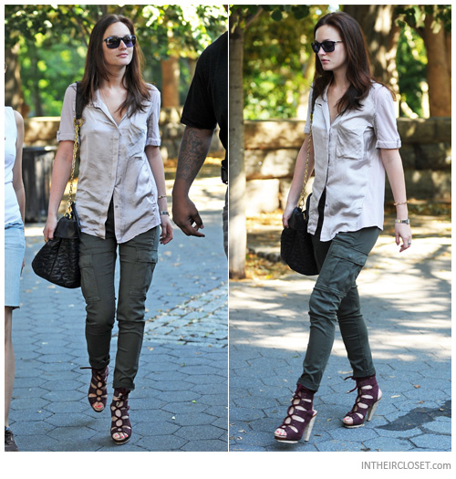 How to wear green military pants – Global fashion jeans collection